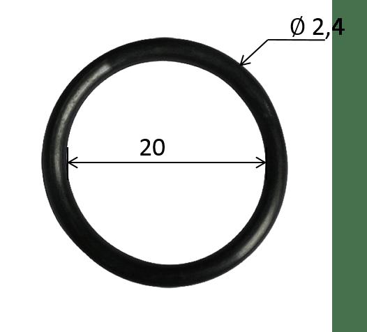 O-Ring für Kunststoffverschraubung